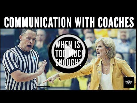 Communication with Coaches| When is too much enough? | The Crown Refs Podcast 91