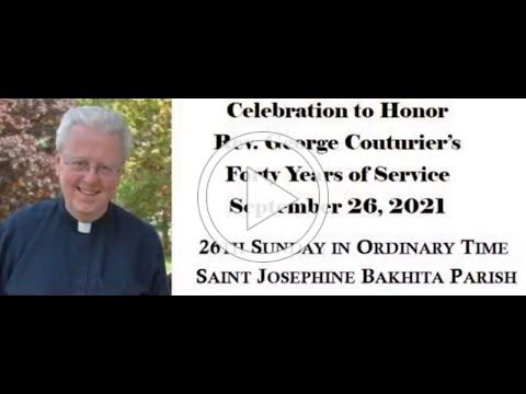 Father George Ruby Jubilee Video Greeting