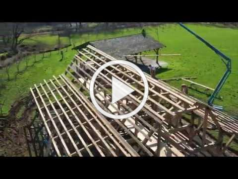 Modified Post & Beam Timber Frame Barn