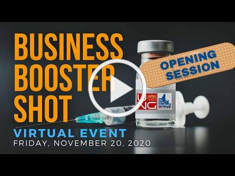 Business Booster Shot - Opening Session