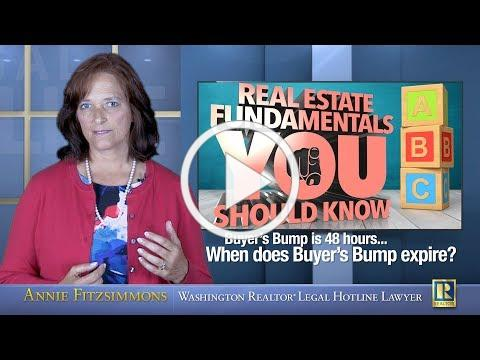 When does buyers bump expire?
