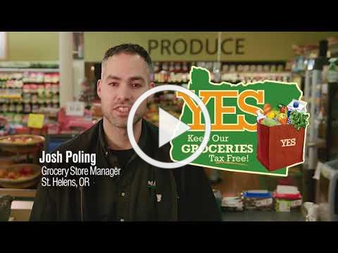 Yes! Keep Our Groceries Tax Free - Informational Ad - Our Mission.