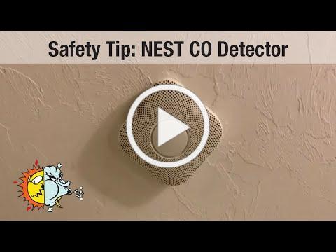 Safety Tip: NEST CO Detector