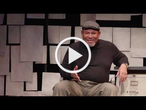 """LHT Presents Steven Anthony Jones As August Wilson in """"How I Learned What I Learned"""""""