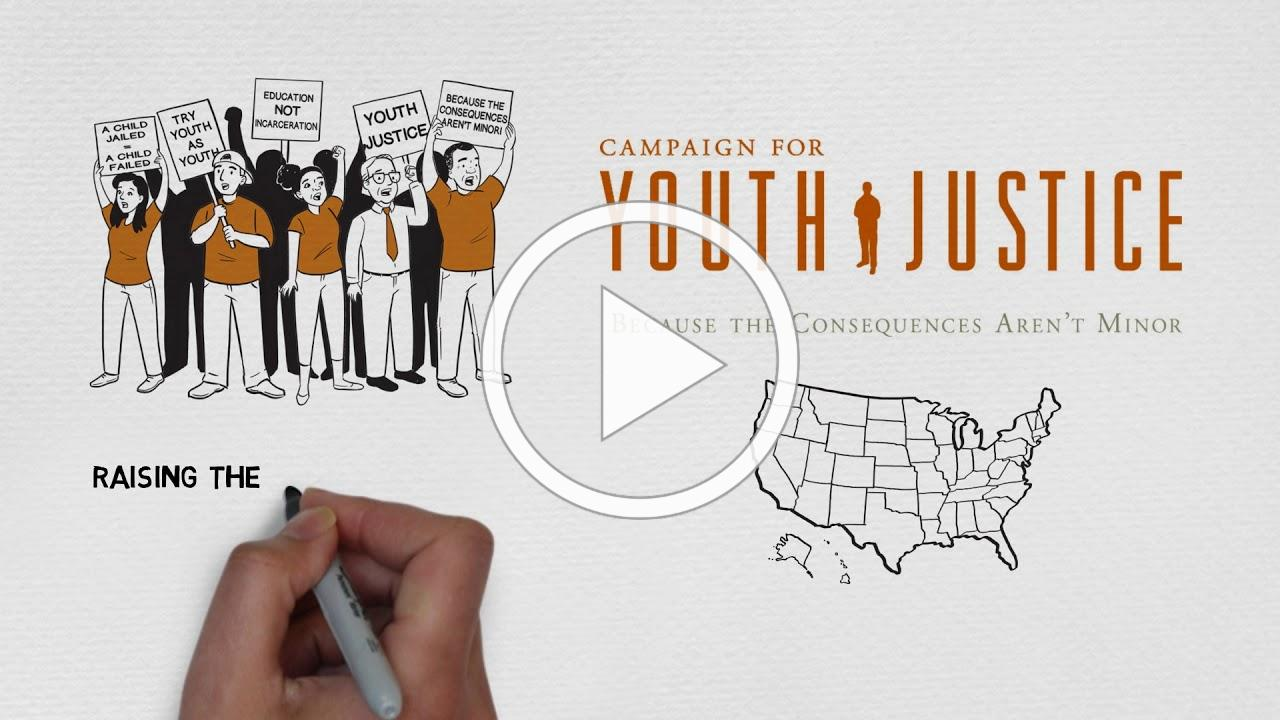 Updated CFYJ WhiteBoard Video - Youth Justice Action Month 2018