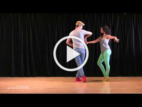 Turn and Bump Salsa Pattern with David Stein and Jennifer Stein