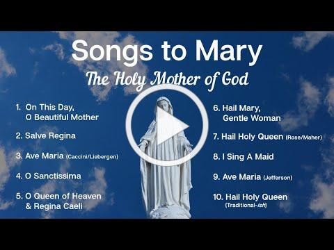 Songs to Mary, Holy Mother of God | 10 Marian Hymns and Catholic Songs | Sunday 7pm Choir | ADCS