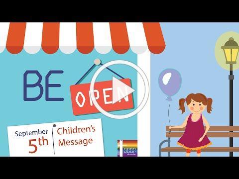 Children's Message - September 5, 2021