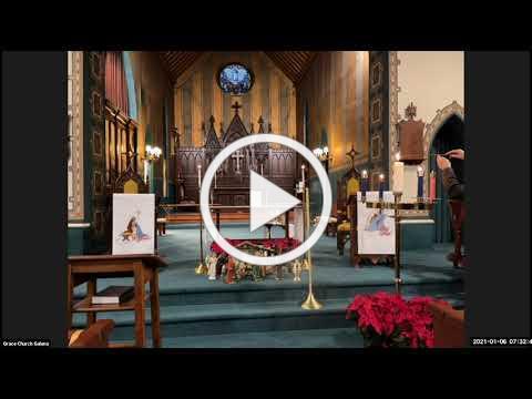 Grace Episcopal Church, Galena IL, Wednesday Epiphany 2021