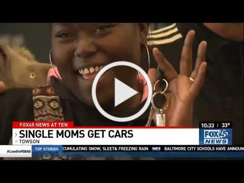 Fox 45 Baltimore Covers Car Award Ceremony