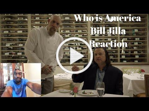 Who is America Food Critic Bill Jilla Reaction