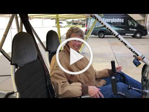 Kathy flying Rans S-19 and S-12 using Viking engines