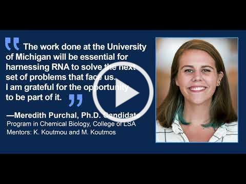 The University of Michigan Center for RNA Biomedicine, Giving blueday, March 2021