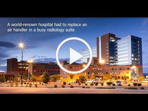 ClimateCraft Air Handler Replacement in 5 days for a Healthcare Facility