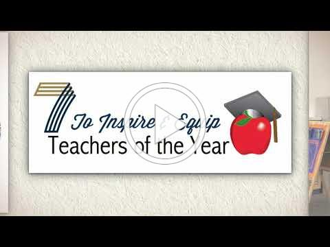D7 Presents Its Teachers of the Year and Support Staff Members of the Year
