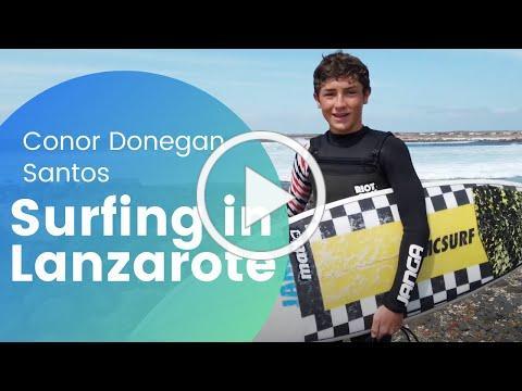 Best Surf Spots in Lanzarote, La Santa, Famara, Conor Donegan Santos - Canary Islands