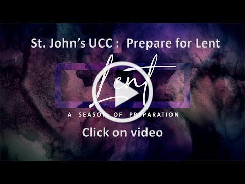 Preparing for Lent video