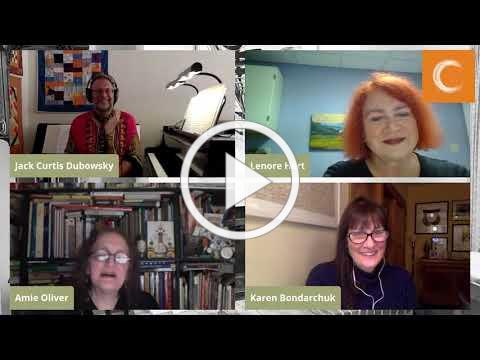 VCCA Fireplace Series 13: Karen Bondarchuk, Jack Curtis Dubowsky, and Lenore Hart