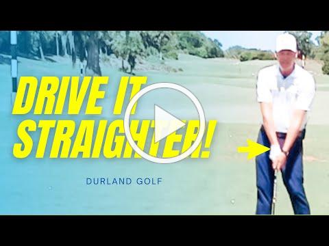 GOLF TIP   How To Hit The Driver Straighter