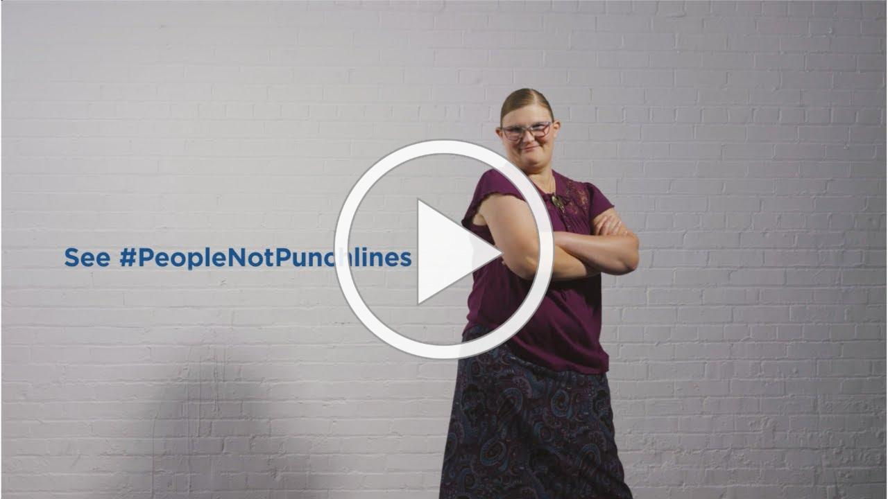 People, Not Punchlines - Indiana Disability Awareness Month 2020