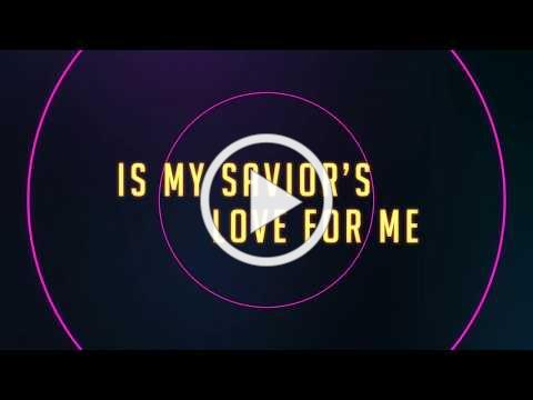 Yancy - I Stand Amazed [OFFICIAL LYRIC VIDEO] from Kidmin Worship Vol. 1 HYMNS