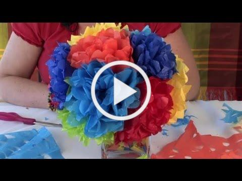 How to Create Decorations Made Out of Paper : Festive Decorations