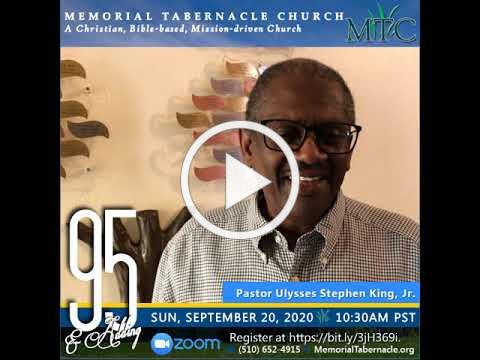95th Church Anniversary   Special Invitation from Pastor King