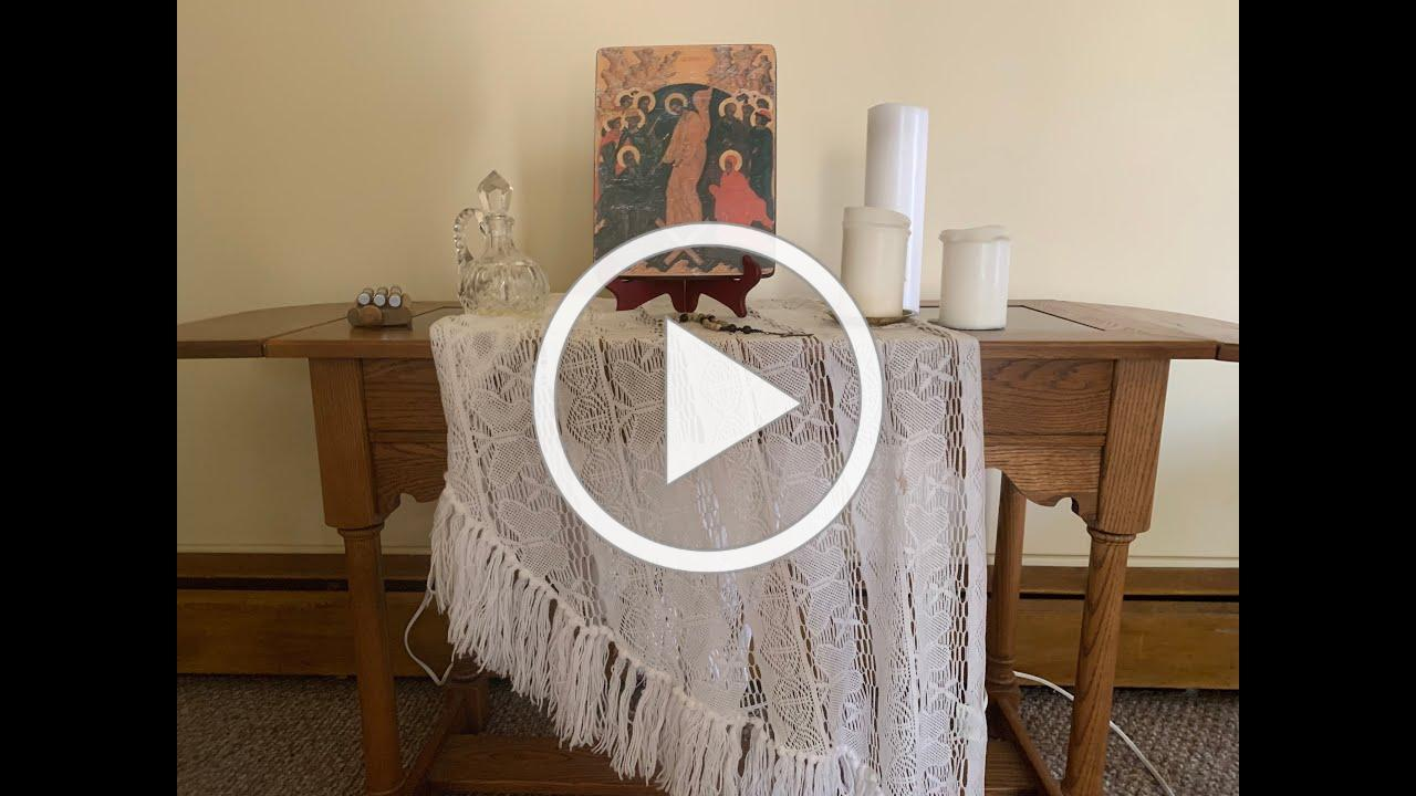 Virtual Chapel with Compline