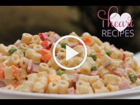 Summer Pasta Salad Recipe - I Heart Recipes