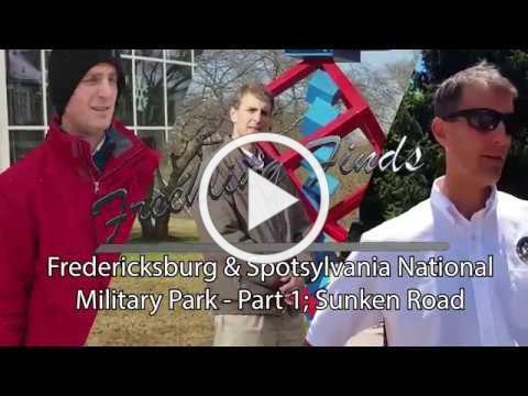 Freehling Finds Fredericksburg Battlefield Part 1.
