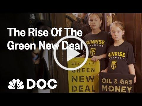 Inside The Sunrise Movement: How Climate Activists Put The Green New Deal On The Map   NBC News