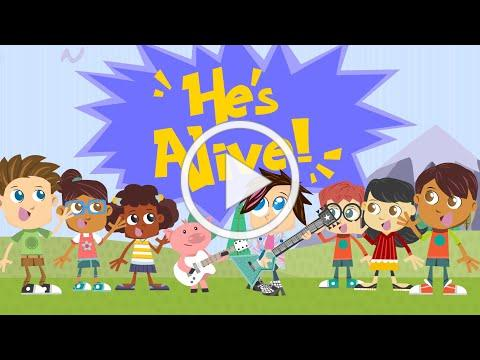Yancy & Little Praise Party - He's Alive, He's Alive [OFFICIAL EASTER MUSIC VIDEO] Ready Set Go