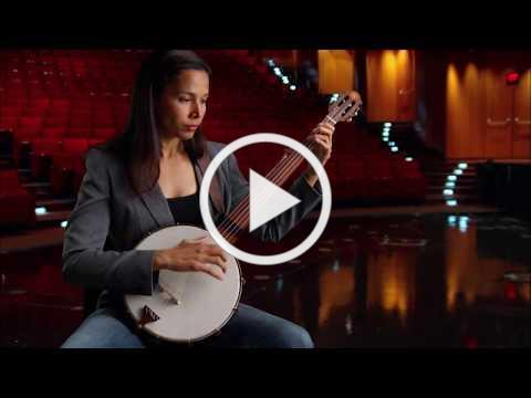Jim Hartel minstrel banjo & Rhiannon Giddens, MUSIC episode