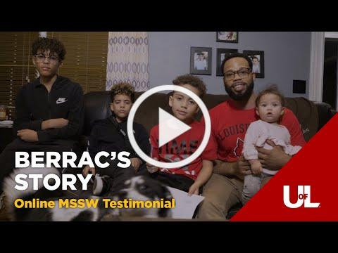 Berrac's Story: Leading a Family and Community-Driven Life - Online Master's in Social Work
