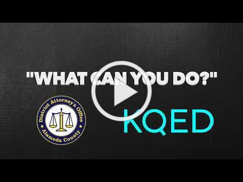 ADA Sharmin Bock x KQED on Human Trafficking in The Bay Area
