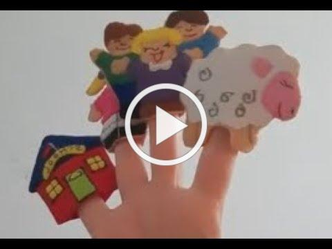 Puppets, with Lisa: Finger Puppet stories, by Alex co.