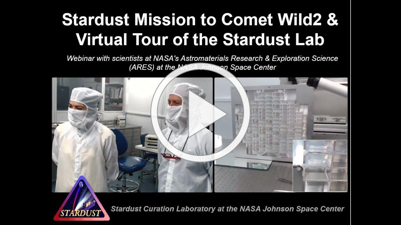 Stardust Mission Overview & Virtual Tour of NASA's Stardust Lab
