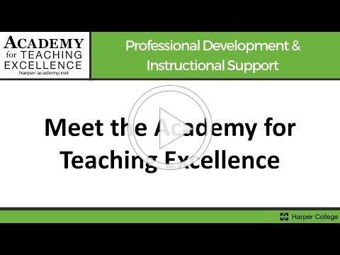 Meet the Academy for Teaching Excellence