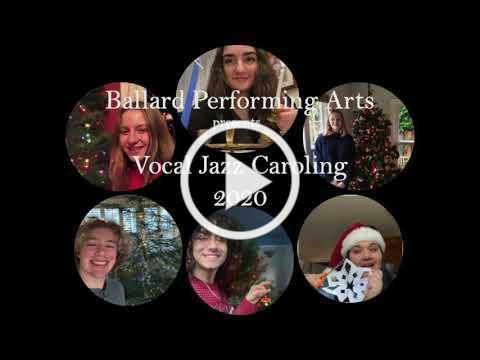 Vocal Jazz Caroling 2020