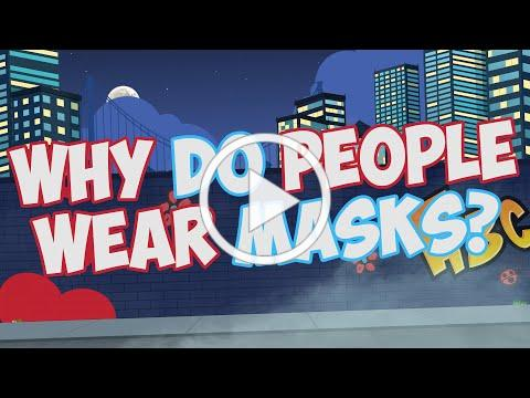 Why Do People Wear Masks? | Jack Hartmann| Face Mask Song