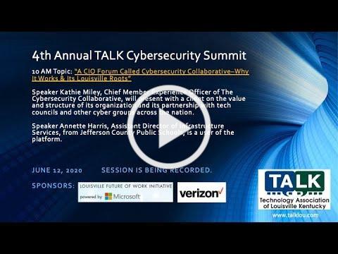 4th Annual TALK Cybersecurity Summit 2020