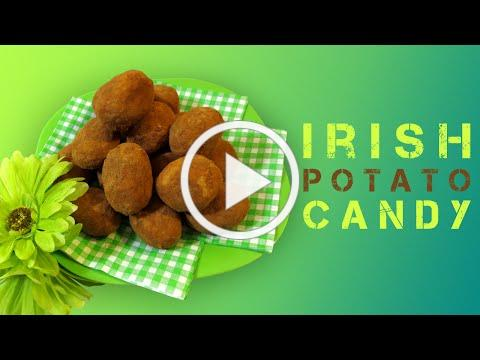 IRISH POTATO CANDY - ST-PATRICK'S DAY TREATS