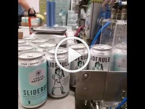 Sliderule Raspberry Gose from Urban Artifact Brewing Co