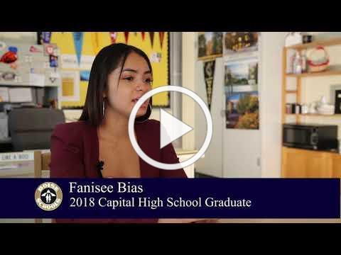 Meet Capital High School 2018 Graduate Fanisee Bias