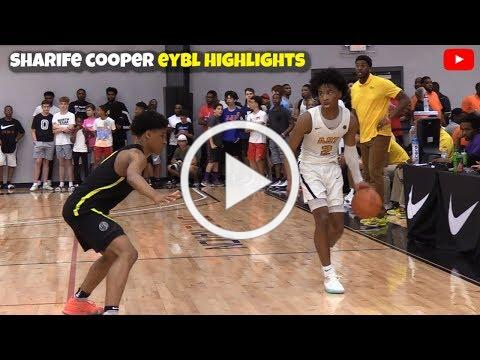 Sharife Cooper is UNGUARDABLE!! Full Highlights From EYBL Dallas