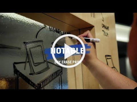 Notable® Dry Erase Paint | Benjamin Moore
