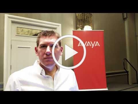 "Avaya's Steve Forcum at #InnovationEdgeTour ""Talking Business"" with Ken Kraetzer"