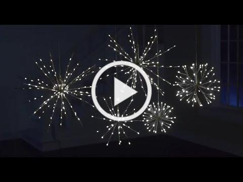 Lighted Starbursts - Holiday 2018