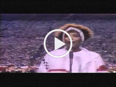 Whitney Houston - Star Spangled Banner