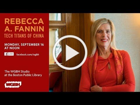 Interview at WGBH: Rebecca Fannin Talks